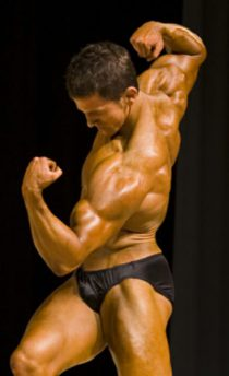 Congratulations Larry! 2006 California Musclemania 1st runner up